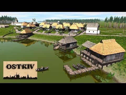 Ostriv - Развивающийся городок! #3