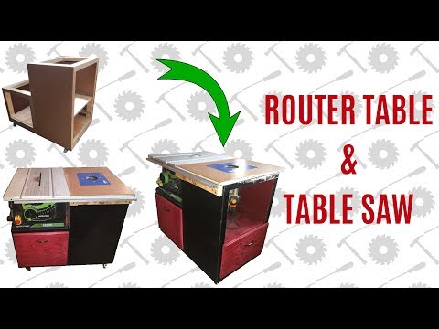 DIY Router Table & Table Saw Cabinet - Part 2