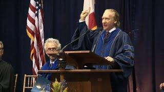 Bill Maher @ Berkeley 2014 Winter Commencement