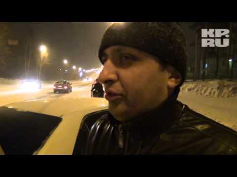 В Новосибирске пьяный инспектор ГИБДД устроил ДТП - 1
