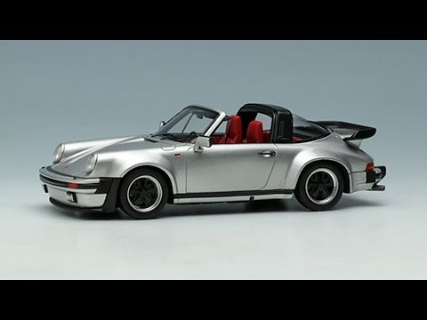 1986 Porsche 911 Targa Turbo 1/43 High Speed видео обзор