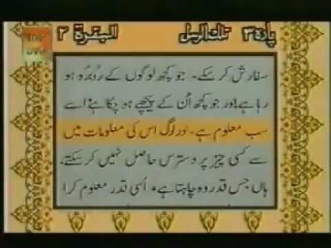 Ayatul Kursi with Urdu Translation