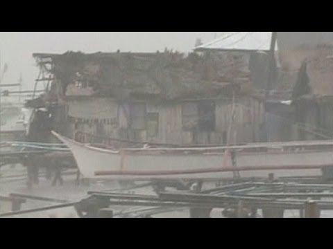 image vidéo إعصار