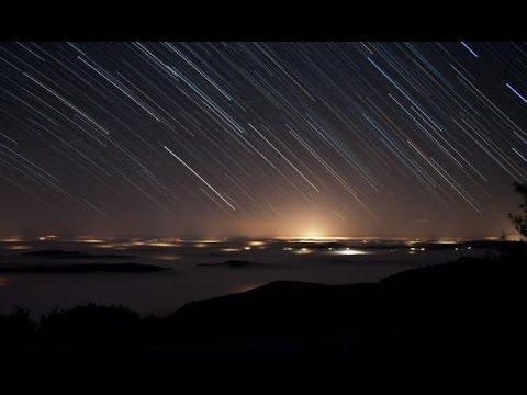 HOY en la noche lluvia de estrellas en México VIDEO