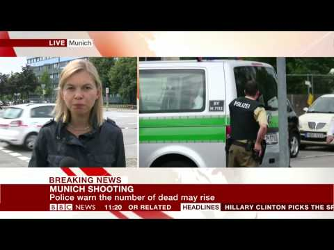 Munich gunman 'obsessed with shootings' |BBC News