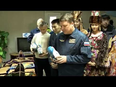 Welcome to Kazakhstan | Space Station -  Expedition 33 | NASA ISS Science Video