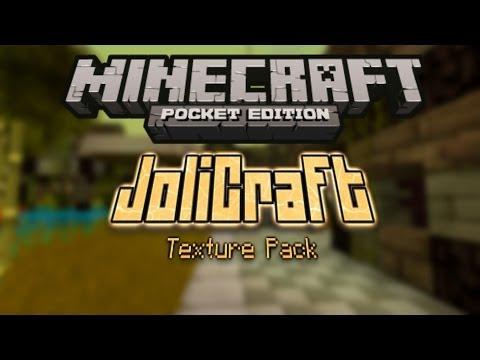 JoliCraft Texture Pack MCPE 0.8.1