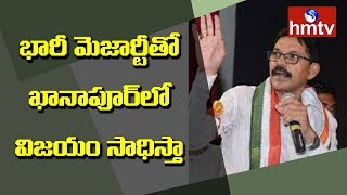 Congress Candidate Ramesh Rathod Face to Face Over Election Campaign In Khanapur | hmtv