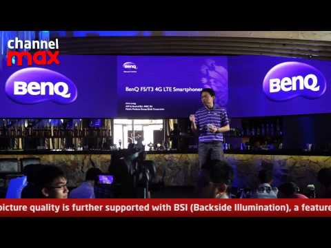 BenQ Launches 4G LTE Smartphones in Malaysia