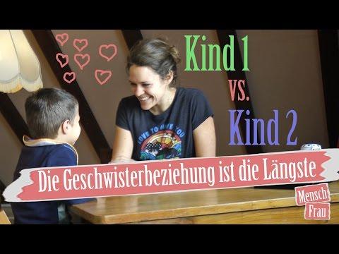 1. Kind vs. 2. Kind. Unterschiede in der Erziehung. Geschwister | Mensch Frau