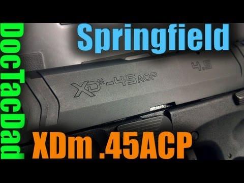 Springfield XDm .45 ACP - First Shots