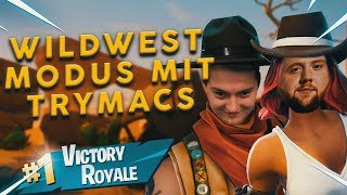🤠WildWest Duo mit Trymacs | Fortnite Battle Royale