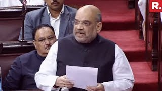 Amit Shah Hits Back At Congress In Parliament | Full Speech