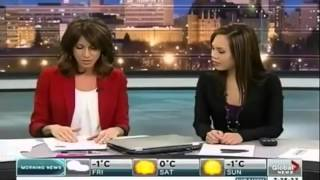 Anchorwoman Sausage Blooper