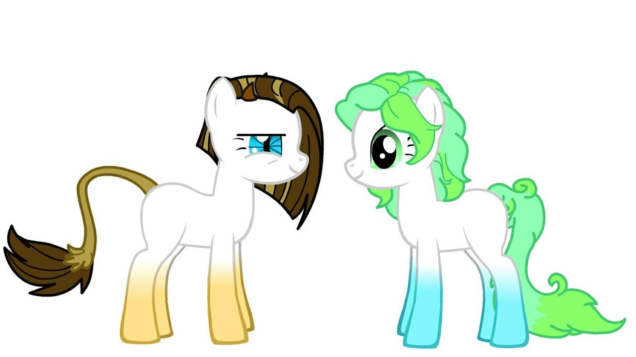 Создай свою пони 2 как сделать двух пони