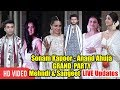 Sonam Kapoor-Anand Ahuja's GRAND Sangeet | LIVE Updates | Katrina, Rani, Shilpa, Karan, Arjun