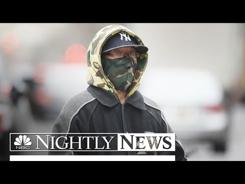 Polar Vortex: Brutally Cold Temps for 65M Americans This Weekend | NBC Nightly News