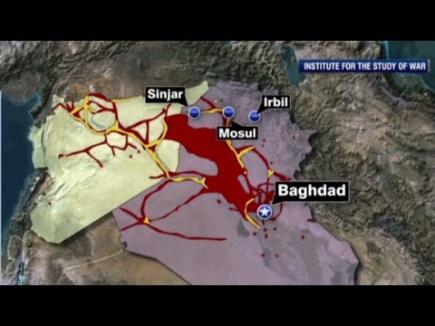 ISIS threat keeps growing in Iraq