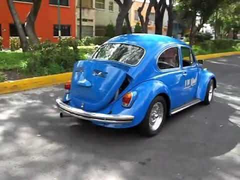 VW Monti Racing, vocho familiar de 12´s en el 1/4 de milla