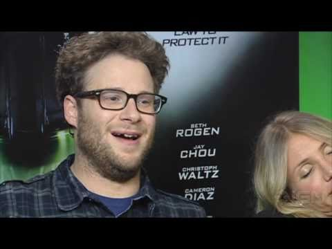 Seth Rogen's Laugh Montage - Green Hornet Interview
