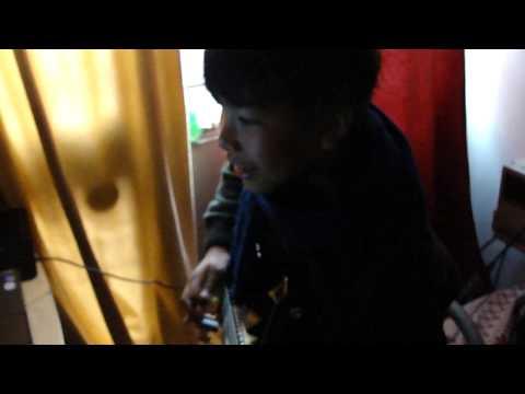 Kids practicing Guitar online using Facebook Video Chat