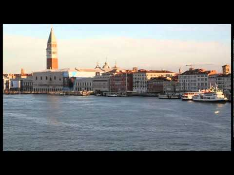 Venice, Italy - an early morning arrival by cruise ship