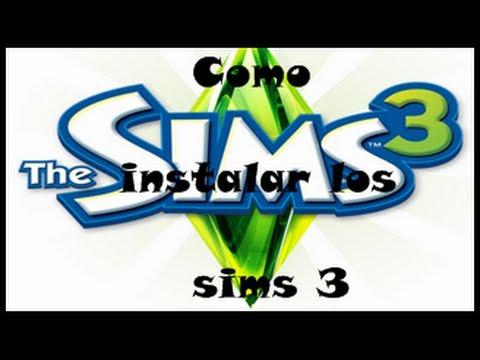 Como Instalar Los Sims3 Con CD....