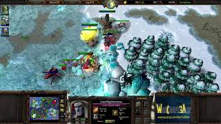 Focus(ORC) vs 120(UD) - WarCraft 3 Frozen Throne - RN3495