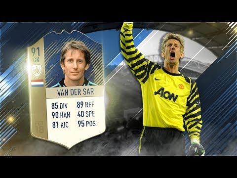FIFA 18 Prime Icon van der Sar Review - 91 Icon Edwin van der Sar Player Review