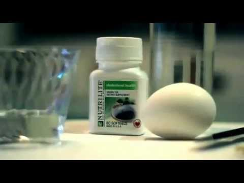 Amway Nutrilite Cholesterol Tablet Demo video