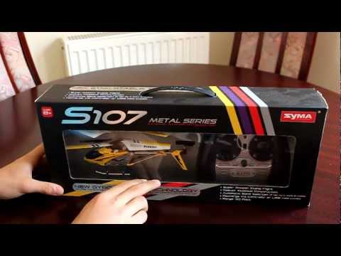 RC Helicopter review - Indoor Flight - S107 - RED5