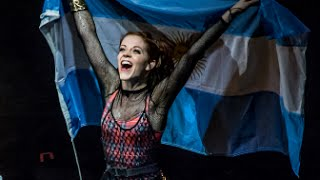 Lindsey Stirling // Bandera-Flag-Speech // Teatro Opera Bs As - Arg // 17-04-15