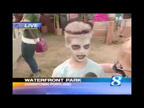 Zombie Kid Funny News Interview | America's Funniest Viral Videos