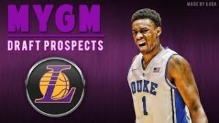NBA 2K14 Next Gen My GM Mode Ep.52 - Los Angeles Lakers | NBA Draft Prospects | Xbox One Gameplay