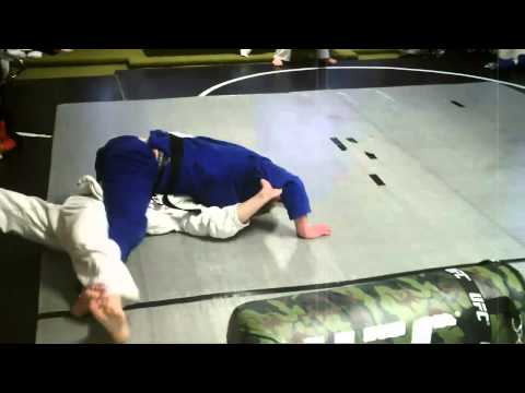 Zack vs Nick - Grappling/Rolling session at Fusion Mixed Martial Arts Image 1