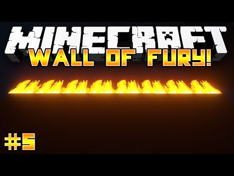 Epic Parkour Map Minecraft: WALL OF FURY w Preston Friends #5