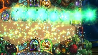 14 Brightwing play animation at the same time in Hearthstone