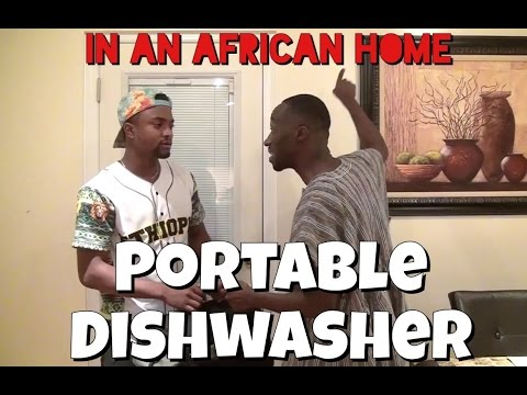 In An African Home: Portable Dishwasher
