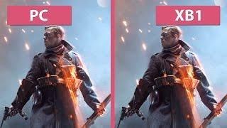 Battlefield 1 – PC Ultra vs. Xbox One Graphics Comparison