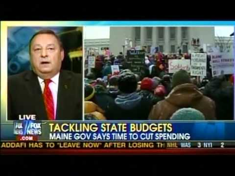 Gov. Paul LePage at Fox News