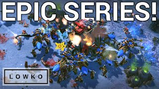 StarCraft 2: EPIC BEST-OF-5 SERIES! (Serral vs Clem)