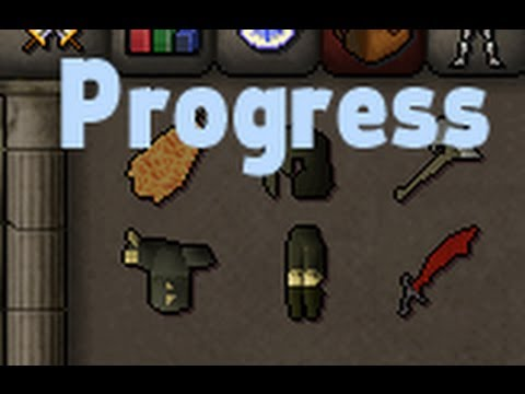 Dharok's pure progress video #1 got full set now ;D