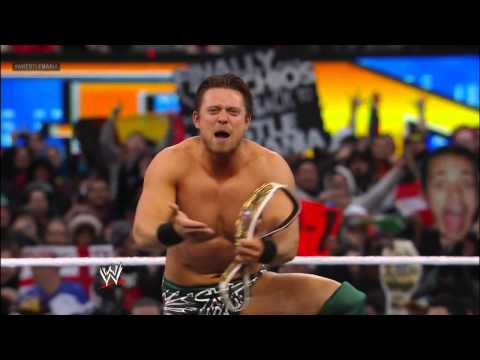 Wade Barrett Vs. The Miz - Intercontinental Championship Match: Wrestlemania 29 Pre-show video