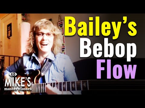 Sheryl Bailey - Bebop Flow: Connecting Harmonic Concepts with the Family of 4