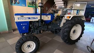 Swaraj 744 FE 4 star tractor full feature & specifications