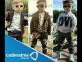 Niño de Monterrey vuelve loco a la moda mundial