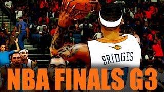 NBA 2k12 My Player Playoffs: NBA Finals Game 2 Kevin Durant vs MVP Neal Bridges. Видео из игры ...