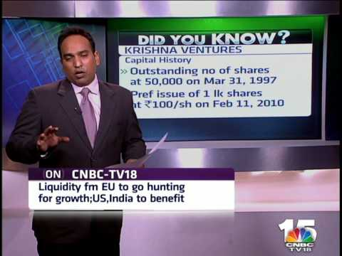 Closing Bell- Did You Know - 23rd Jan, KRISHNA VENTURES