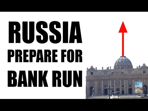 Russia Crisis May Lead to BANK RUN as Currency Drops 50% Against Dollar!