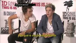 One Direction Video - One Direction Interview for CQC Brasil